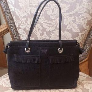 Anya Hindmarch black purse